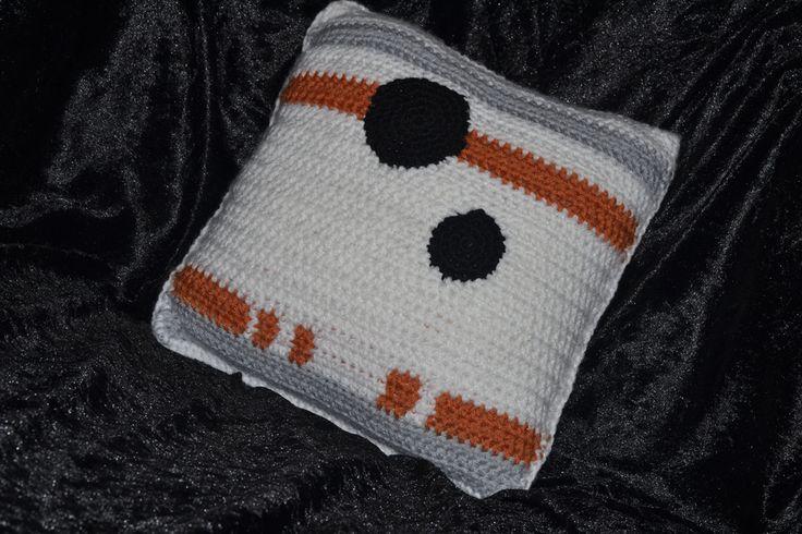Handmade BB8 inspired pillow