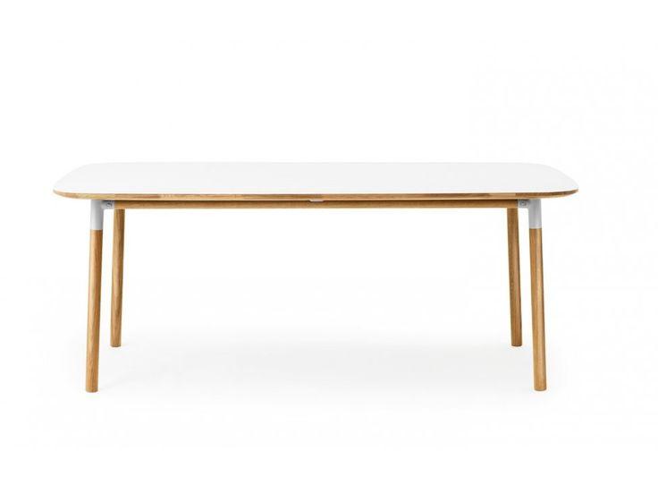 Stół Form 95 x 200 cm biały — Stoły Normann Copenhagen — sfmeble.pl
