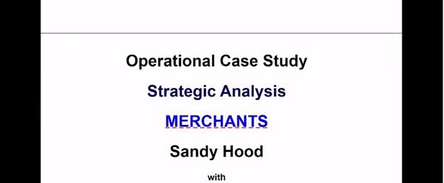 operation case study A comprehensive case study encourages the learner to sift through the information provided and identify the relevant facts, and then use logic and opinion to arrive at a set of decisions a caselet, being brief and focused on the core issue, usually provides only the relevant facts.