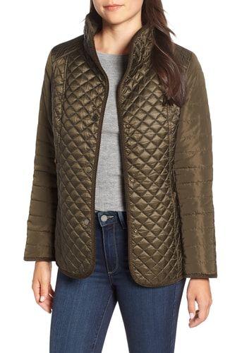 39aafa3131ed New Gallery Quilted Jacket (Regular Petite) online.   98 ...