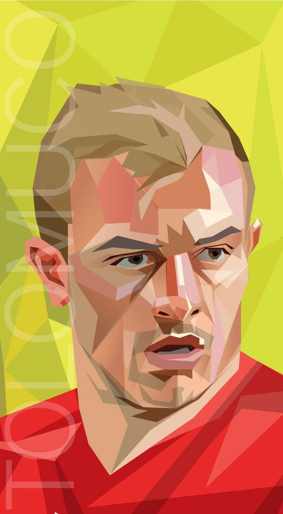 Xherdan Shaqiri, Suiza (Switzerland) World Cup Players by Daniel Solano, via Behance