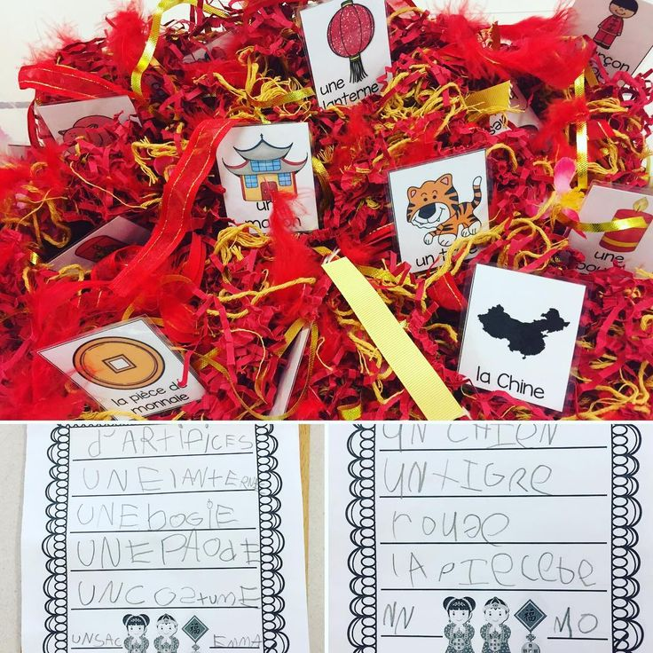 """34 Likes, 3 Comments - Laura King (@kindergartenteachertired) on Instagram: """"Chinese New Year search and write bin! Dig out the word, and write it down! 🈶㊙️🈚️㊗️ The bin is full…"""""""