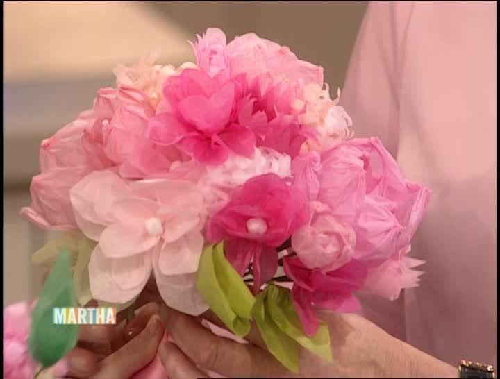 15 best paper flower videos images on pinterest paper flowers easy paper flower wedding decorations paper flowers weddingpaper bouquetmake papermartha stewart mightylinksfo Choice Image