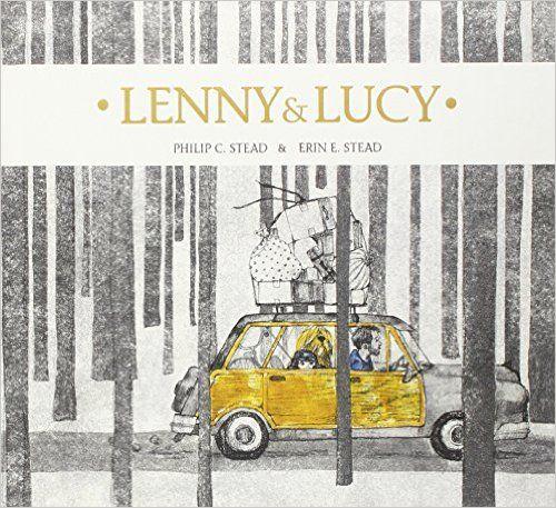 LENNY ET LUCY, de Erine E. Stead, Ed. Kaléidoscope - 2015 (Dès 4 ans)