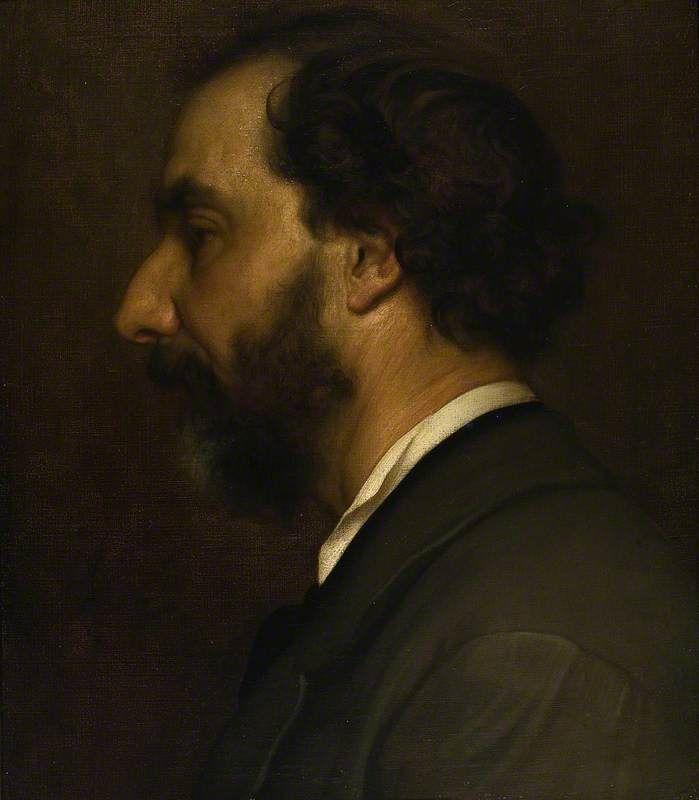 The Athenaeum - Portrait of Professor Giovanni Costa (Sir Frederic Lord Leighton - )