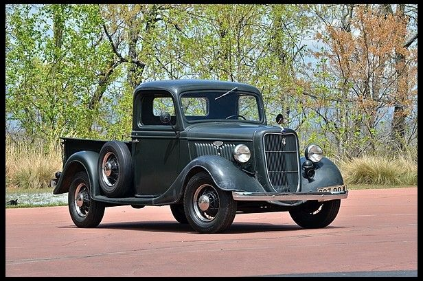 1935 ford pickup old cars and trucks pinterest. Black Bedroom Furniture Sets. Home Design Ideas