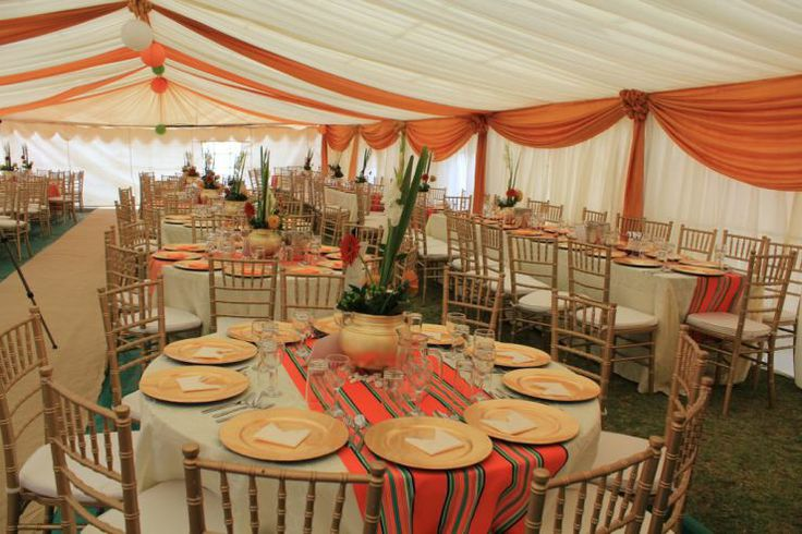 African Wedding Decorations: Snowy And Tebogo's Stylish Traditional Wedding