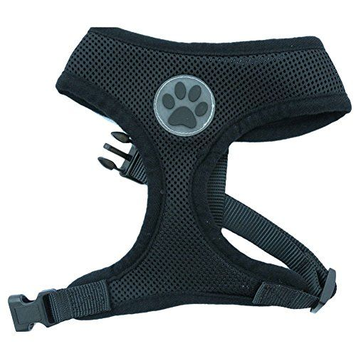 BE GOOD No Pull Adjustable Soft Puppy Pet Harness Air Mesh Padded Dog Harness for Small Medium Dog Size XSSMLXL ** Continue to the product at the image link.Note:It is affiliate link to Amazon.