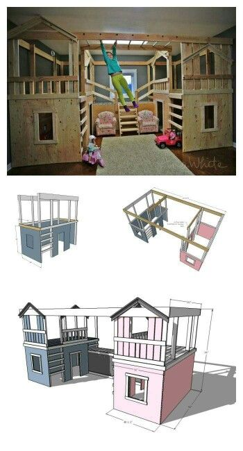 Jungle gym bunk bed Sports & Outdoors - Sports & Fitness - home gym - http://amzn.to/2jsMKm8