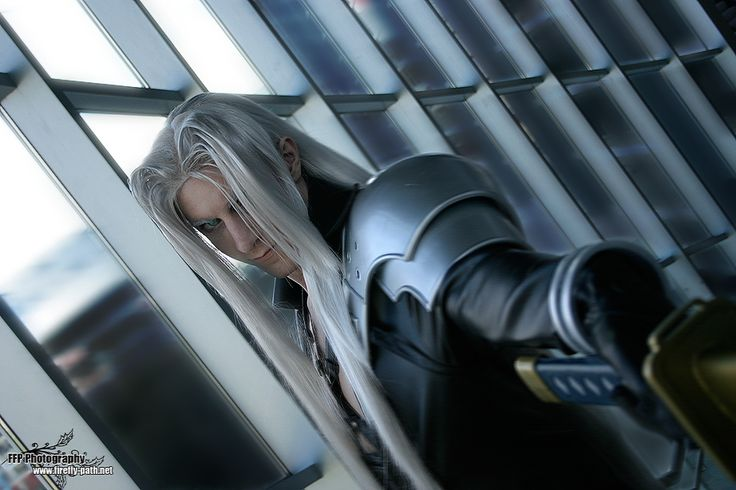 Sephiroth of Final Fantasy. Cosplay by Lord Masamune. Photography by Mary Elam.