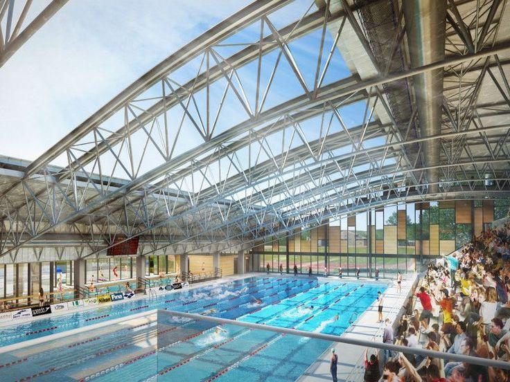 A Aix-en-Provence une piscine prend une forme olympique