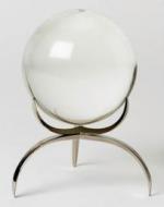 """Boule de cristal / Clearlight Orb,  5"""" dia."""