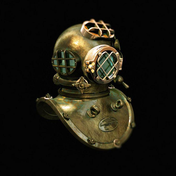 diving helmet Mark V