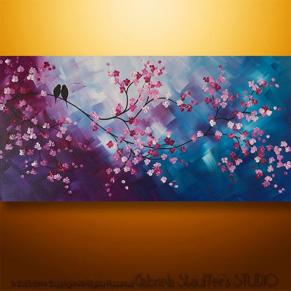 27 best images about Abstract Birds painting by Gabriela ...