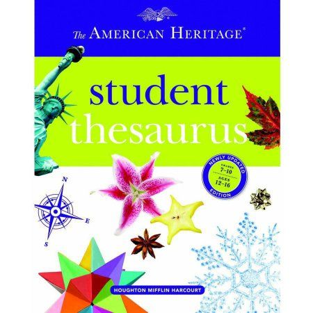 American Heritage Essential Student Thesaurus Hardcover Book