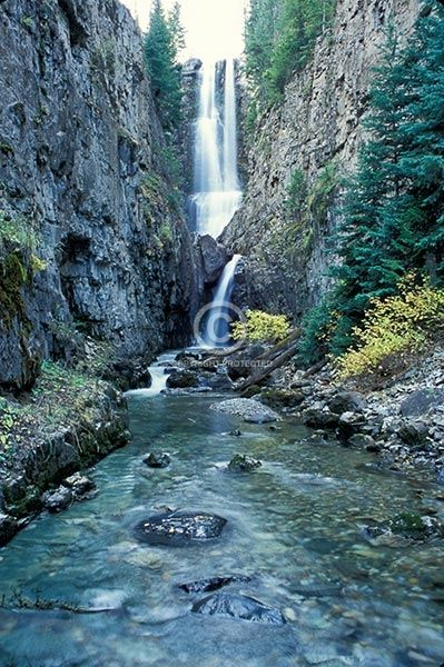 Mystic Falls - Colorado.  I still can't believe I live here sometimes.  Isn't it gorgeous?  #Colorado #nature #waterfall