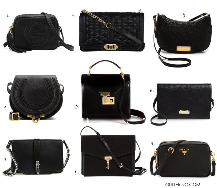 ad6ff6ea148a Fashion Classic: Little {Crossbody} Black Bag | bags | Black cross body bag,  Black crossbody purse, Bags