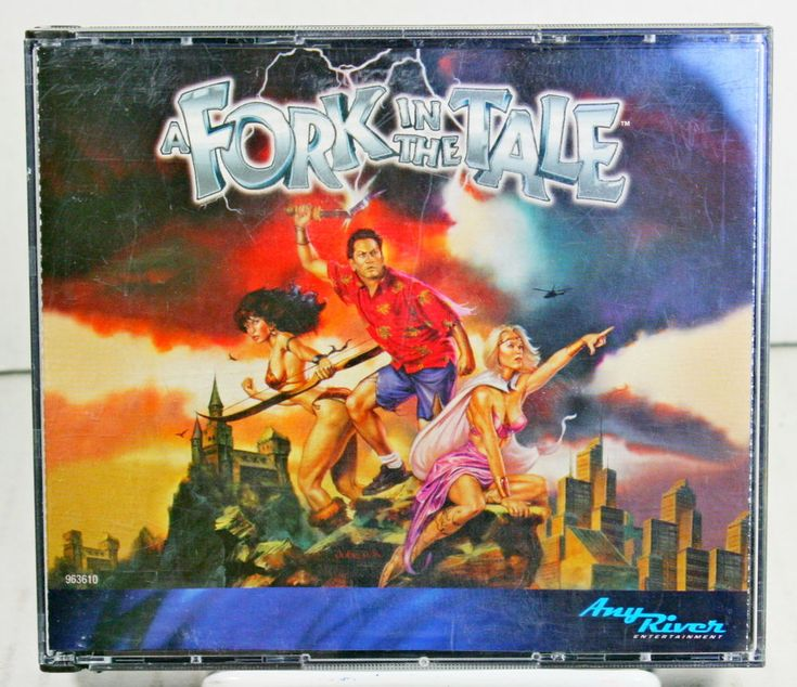 A Fork in the Tale PC Computer Game CD Rom Adventure Mystery Rob Schneider