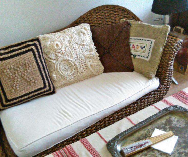 Crochet pillows horgolt-diszparnak