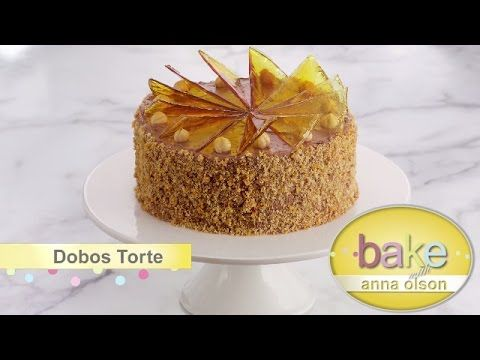 Classic Vanilla Birthday Cake with Caramel Pastry Cream | Oh Yum With Anna Olson - YouTube