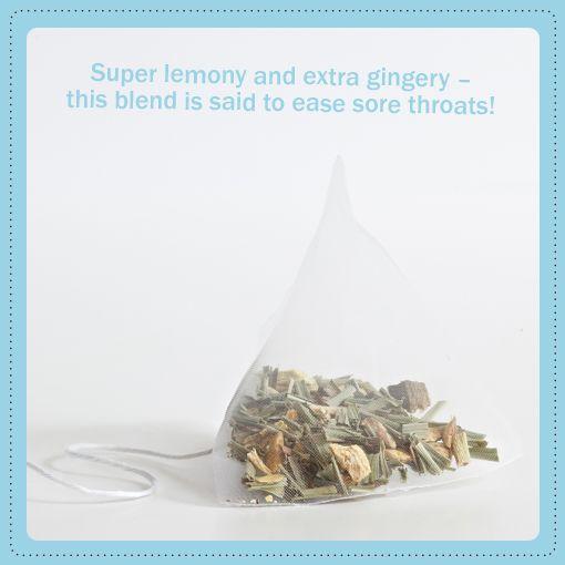 We love lemon & ginger!