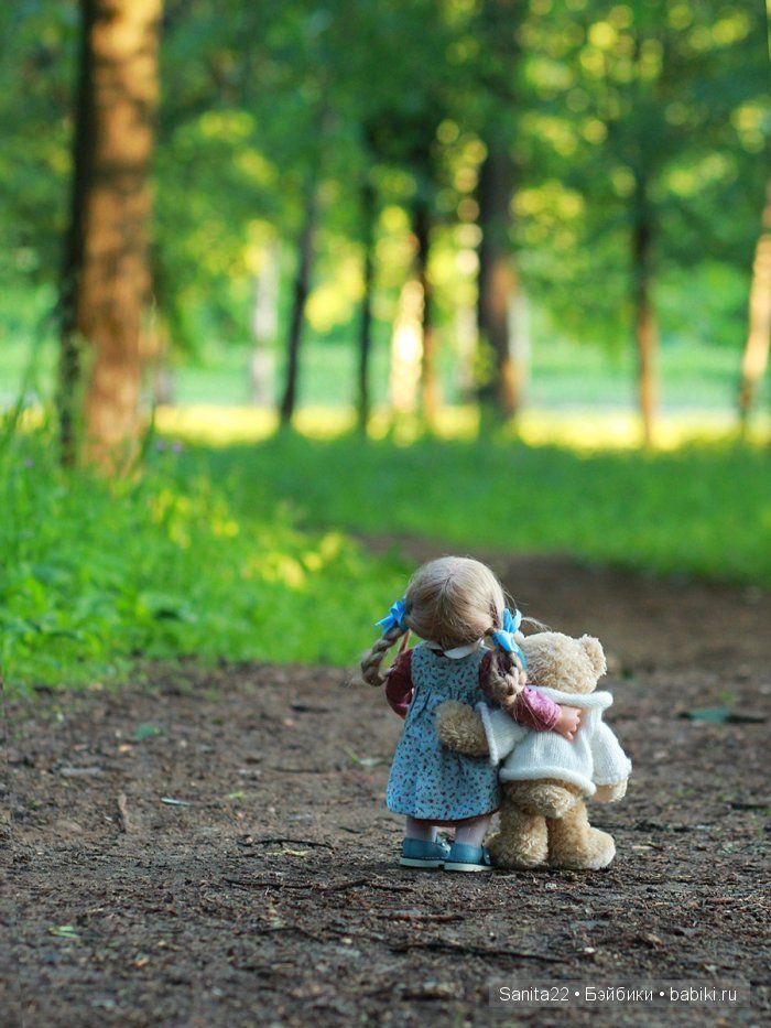 Как друзья рассвет встречали / Коллекционные куклы Rosemarie Anna Muller dolls, Розмари Мюллер / Бэйбики. Куклы фото. Одежда для кукол
