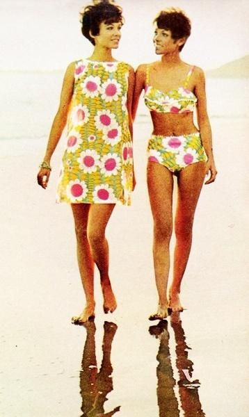 1968 Beach Wear- Vintage Fashion | Mojo Inspiration