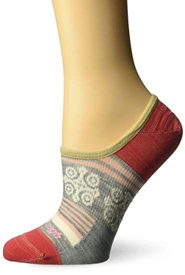 c99e5a68a Darn Tough Topless Stripe No Show Light Sock - Women s Gray Small ...