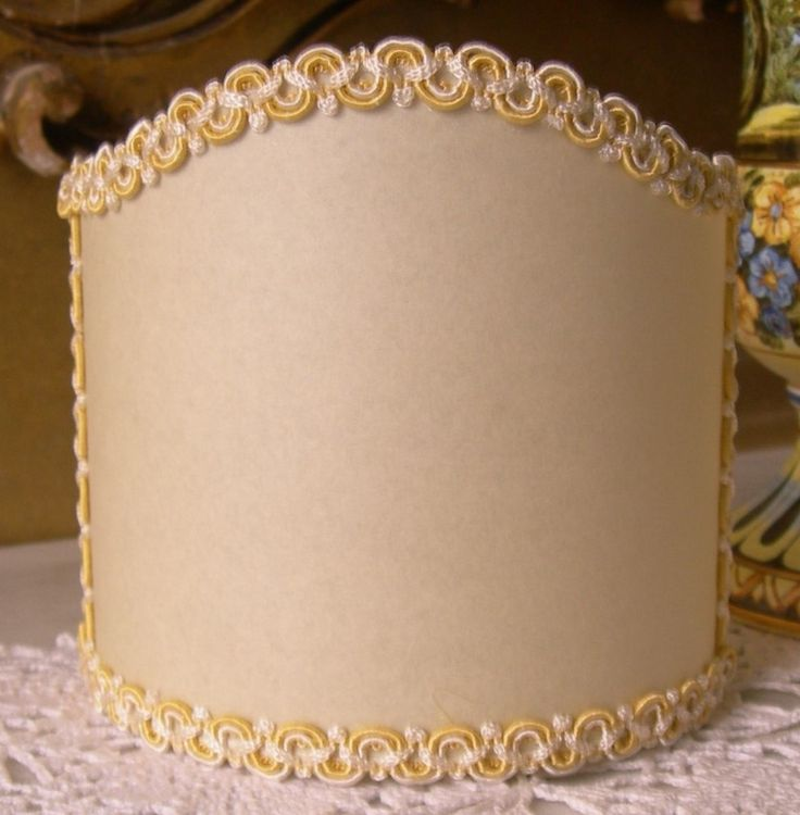 152 best wall sconce clip on shield shades images on pinterest wall sconce clip on shield shade in ivory parchment with white yellow trim half lampshade aloadofball Gallery
