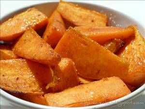 Baked Sweet Potato Wedges - Recipe Details