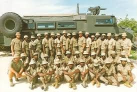 Koevoet Battalion. Whoever posted earlier - not a battalion.