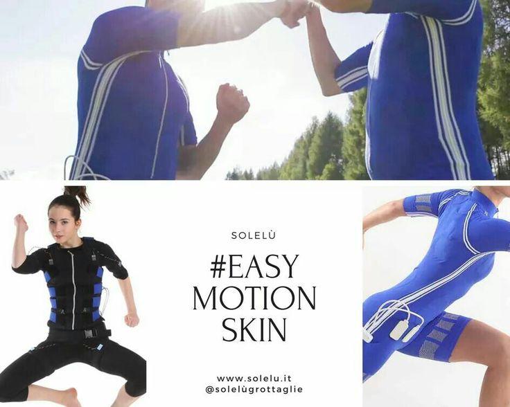#EasyMotionSkin l'#allenamento che ti permetterà di migliorare le tue performance sportive, siano esse di forza, resistenza o precisione #solelù #fitness  http://www.solelu.it/dimagrire-easy-motion-skin-obiettivo-5-kg-25-kg/