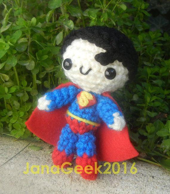 Amigurumi Minion Superheroes : 1000+ ideas about Superman Crochet on Pinterest ...