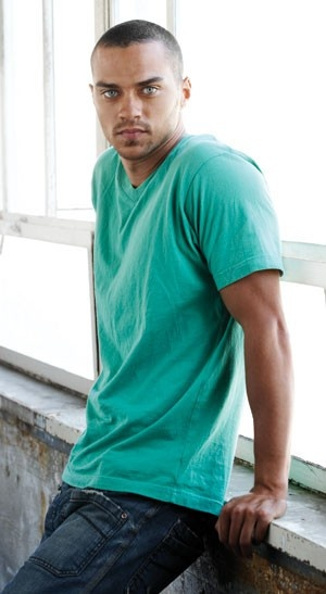 You are my new favorite, Jesse Williams. <3 those eyes get me every time