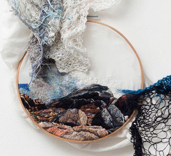 Textile Art by Ana Teresa Barboza