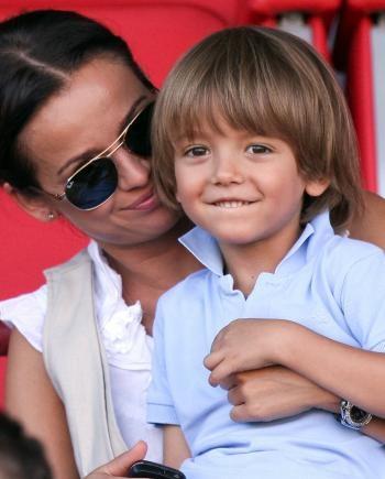 Ania Przybylska z synem <3 #Anna #Ania #Przybylska #mom #mama #mother