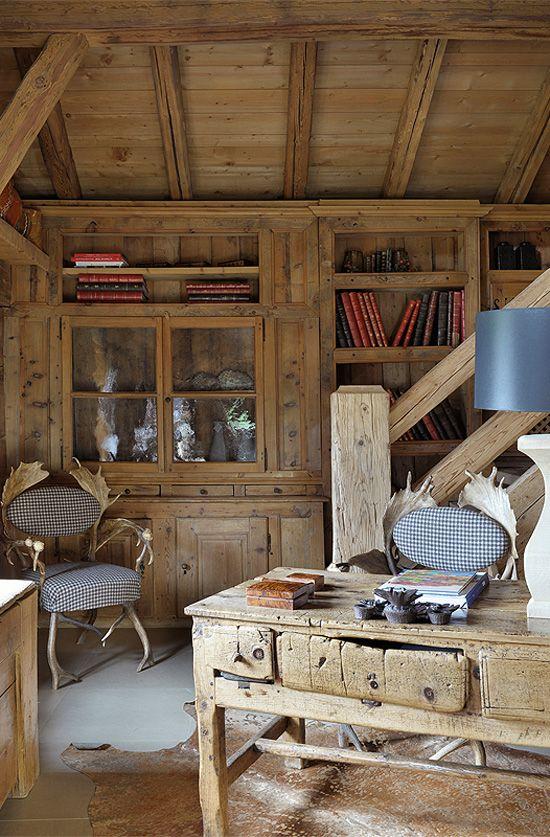 Чудесное шале Chalet Des Fermes во Франции | Пуфик - блог о дизайне интерьера