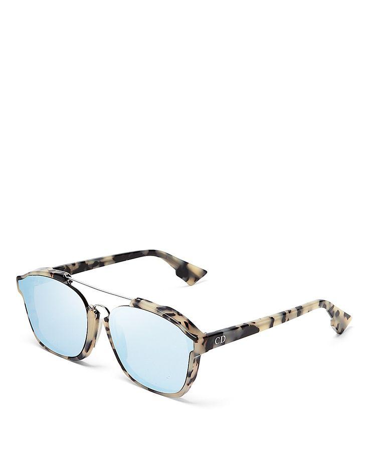 LOOOOOOOVE Dior Abstract Square Mirrored Sunglasses | Bloomingdale's
