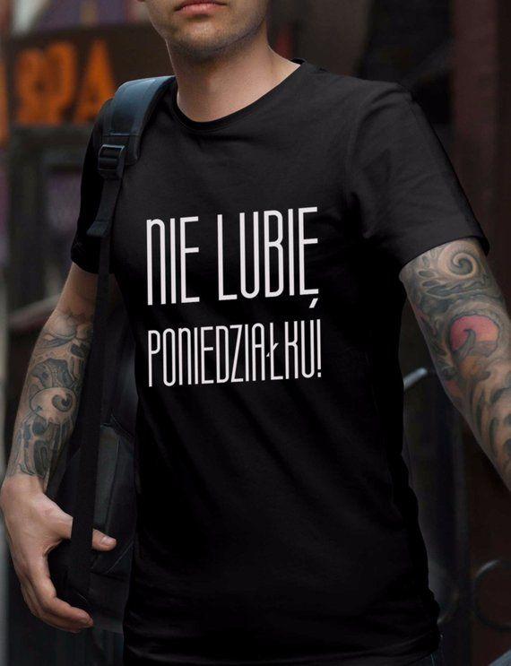 Koszulka Meska Koszulka Z Nadrukiem Koszulka Na Prezent Pomysl Na Prezent Prezent Dla Taty Pomysl Na Prezent Dla Ta Mens Tshirts Colorful Shirts Mens Tops