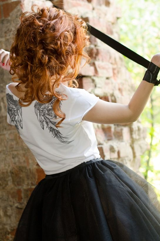 Fallen Angel T-Shirt by HOTnCOOL