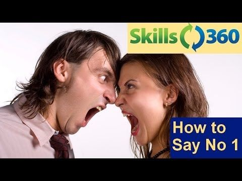 Business Skills - How to Say No (Part 1) transcript video - YouTube
