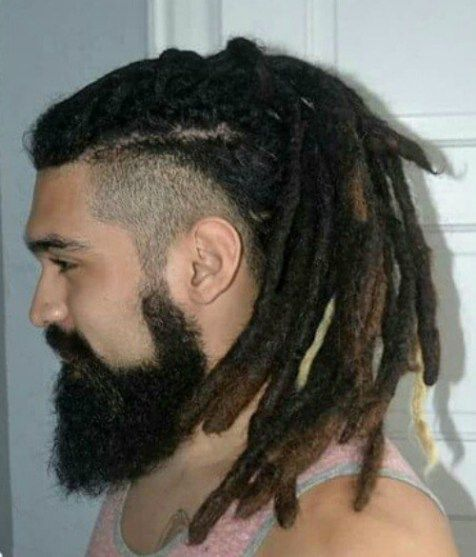 Dreadlocks Hairstyles details dreadlocks for the classy daring brides dreadlocks styled by tobbiestouch makeup by 60 Hottest Mens Dreadlocks Styles To Try