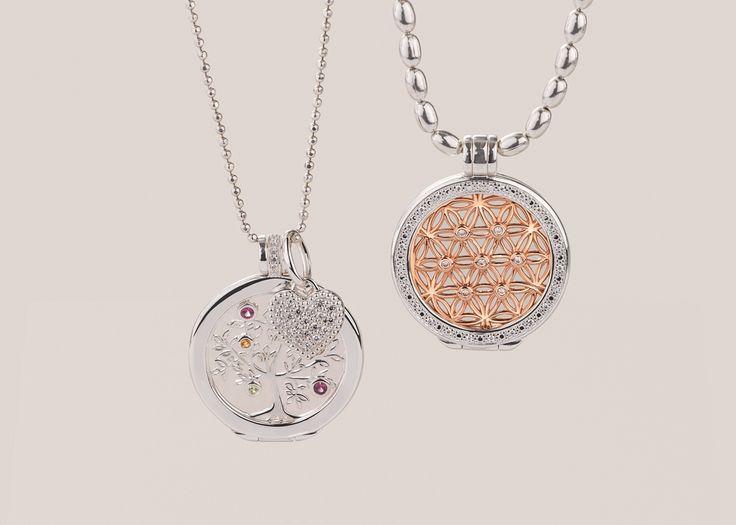Interchangeable pendants as unique as you. #emmaandroe #jewelry #jewellery #pendants #interchangeable