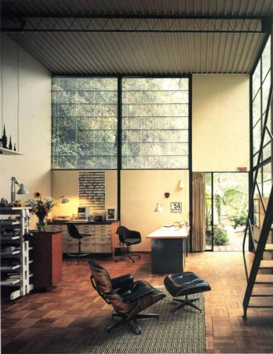 Case Study House    The Eames House   Eames Office The Lollipop Shoppe Case Study House    The Eames House