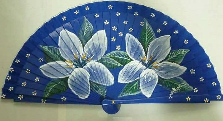 Asian designed and made fan