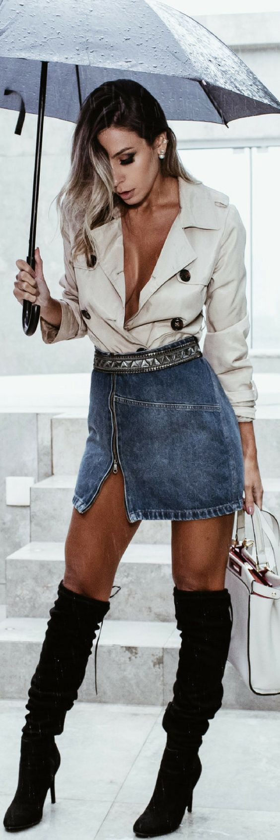 Summer Rain // Summer Outfit Idea by Vanessa Vasconcelos
