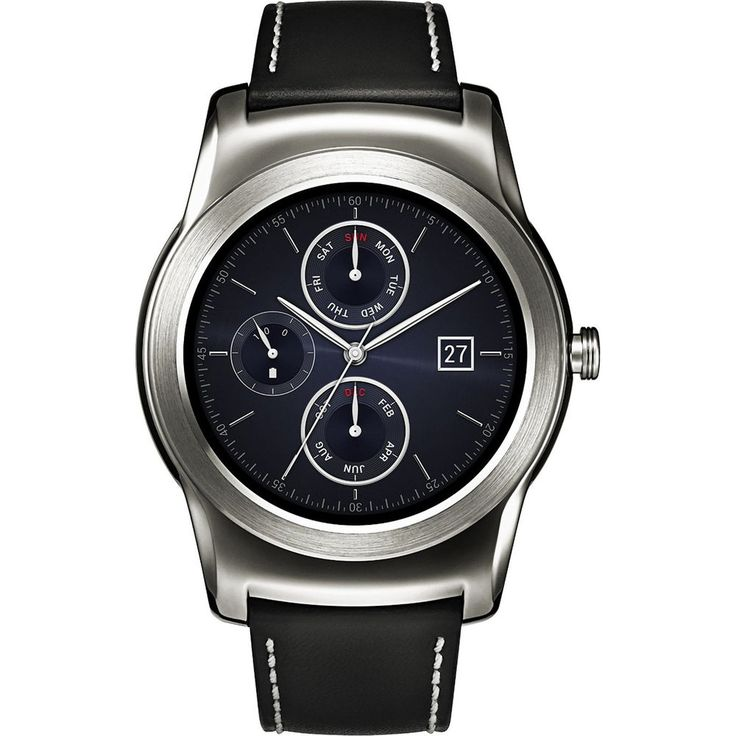 LG Watch Urbane Android Smartwatch P-OLED Display Wi-Fi (Silver) W150