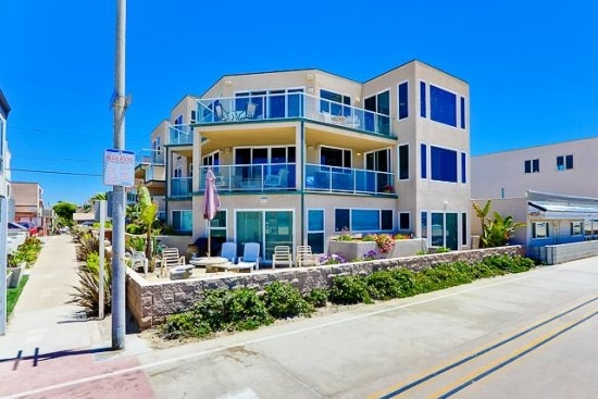 Rockaway I and II - A San Diego Vacation Rental by Bluewater Vacation Homes #San Diego #Beach #Vacation Rental