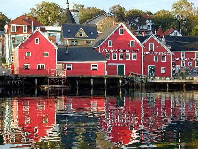 Lunenburg, Nova Scotia. One day I'll go back to this beautiful place