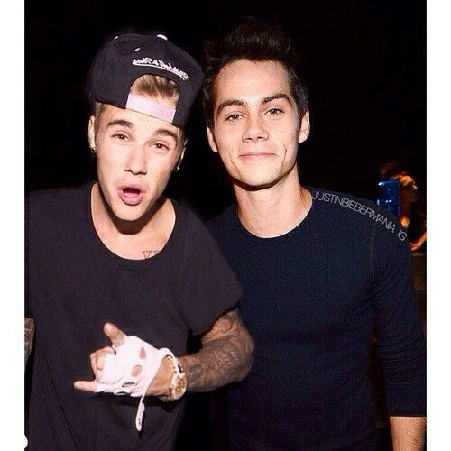 justin bieber and dylan o'brien